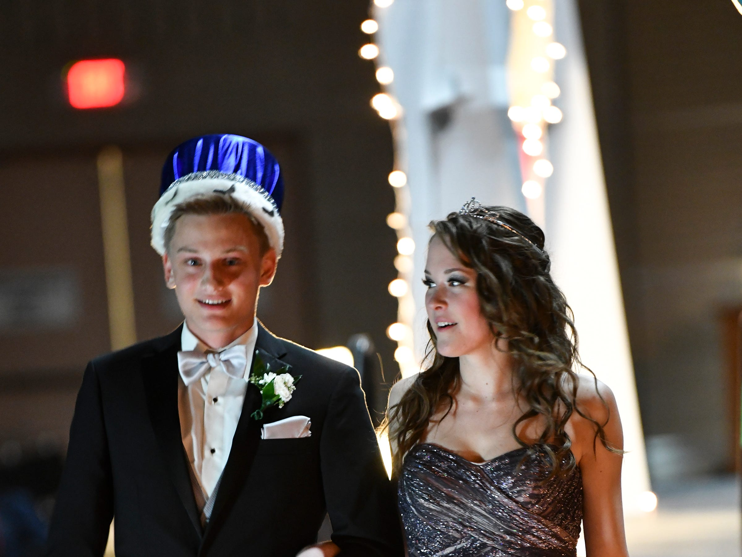 Alex Virnig and Izzy Kicala were named king and queen during Sartell High School's prom Saturday, May 4, at the River's Edge Convention Center in St. Cloud.
