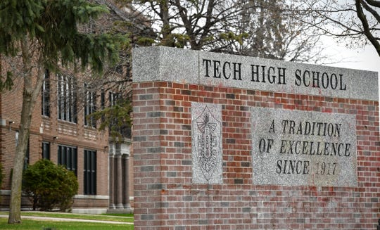 Technical High School is pictured Thursday, May 2, in St. Cloud.