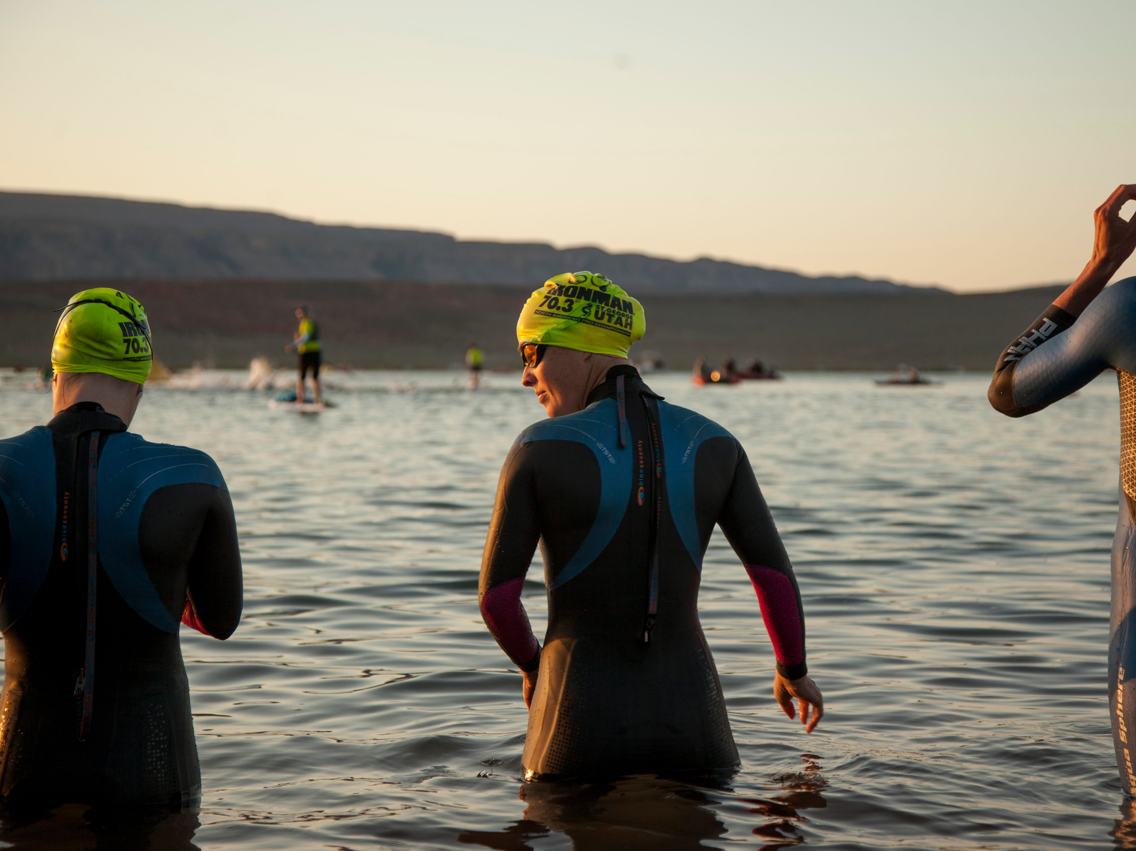 Athletes from around the world compete in the St. George Ironman Saturday, May 4, 2019.