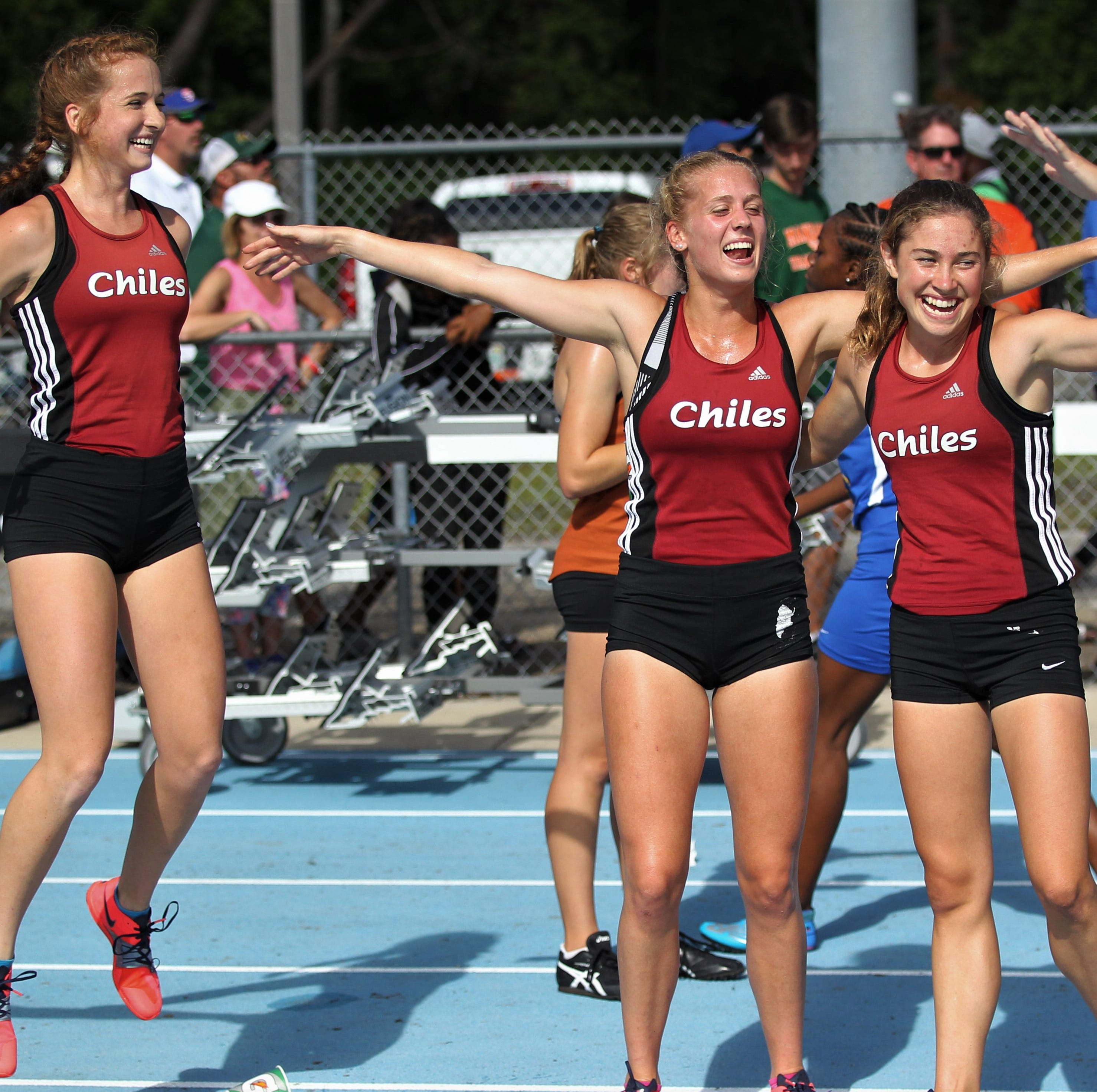 Distance dominant! Chiles' girls track team earns Class 3A state runner-up with four girls