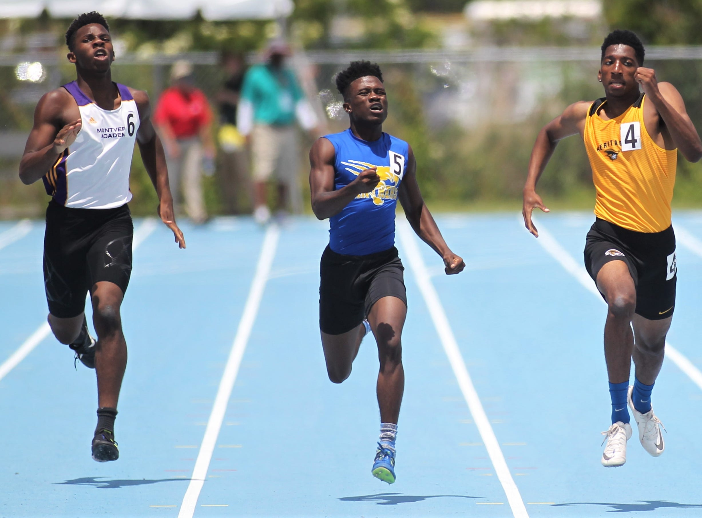 FHSAA Track and Field State Championships at UNF's Hodges Stadium in Jacksonville on May 4, 2019.