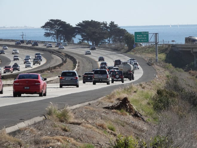 FILE PHOTO Highway 101, looking southbound toward Ventura.