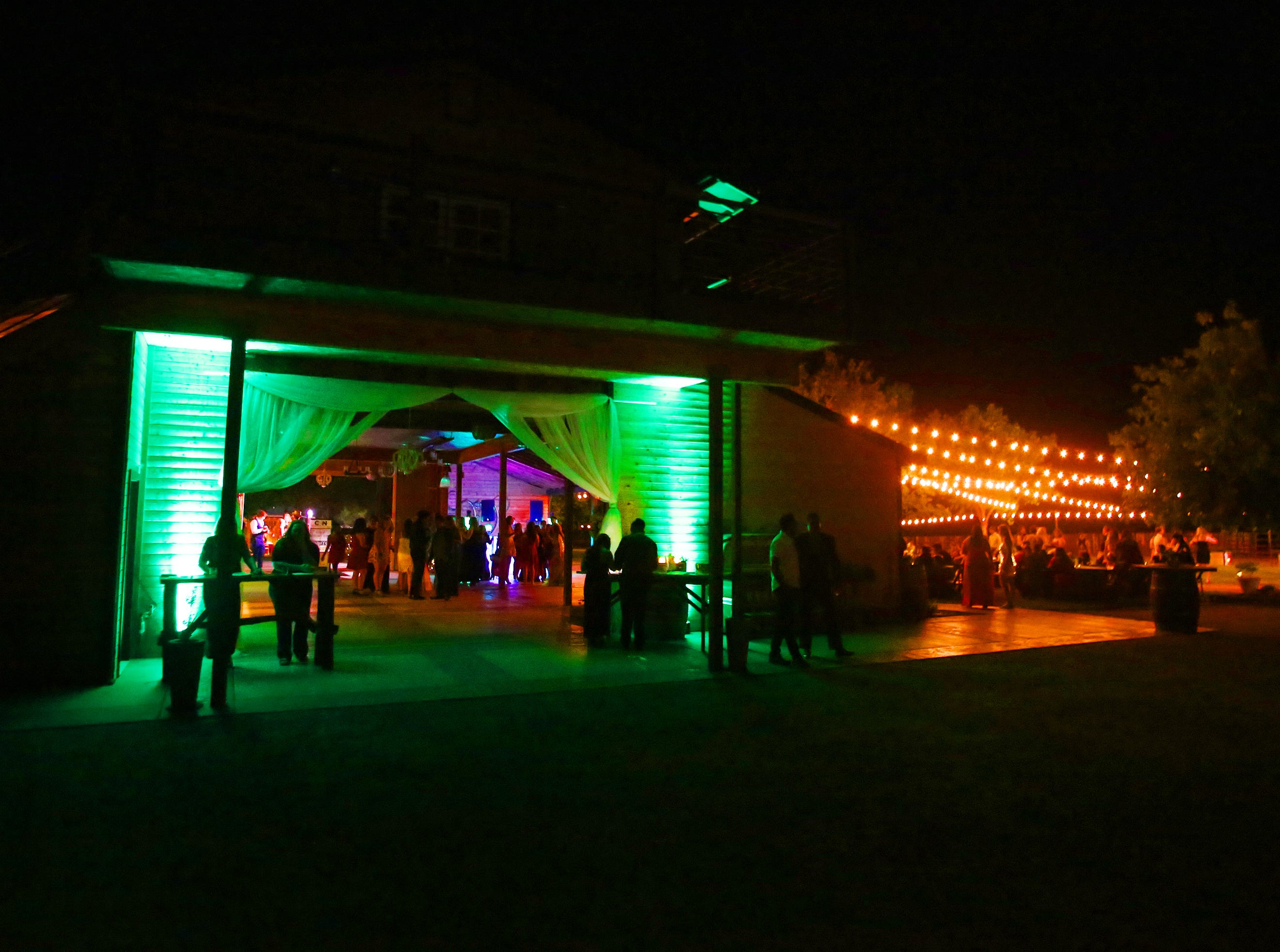 The Cottonwood Barn served as a backdrop to this year's  this year's Exeter Union High School prom Saturday, May 4, 2019 in Woodlake, Calif.