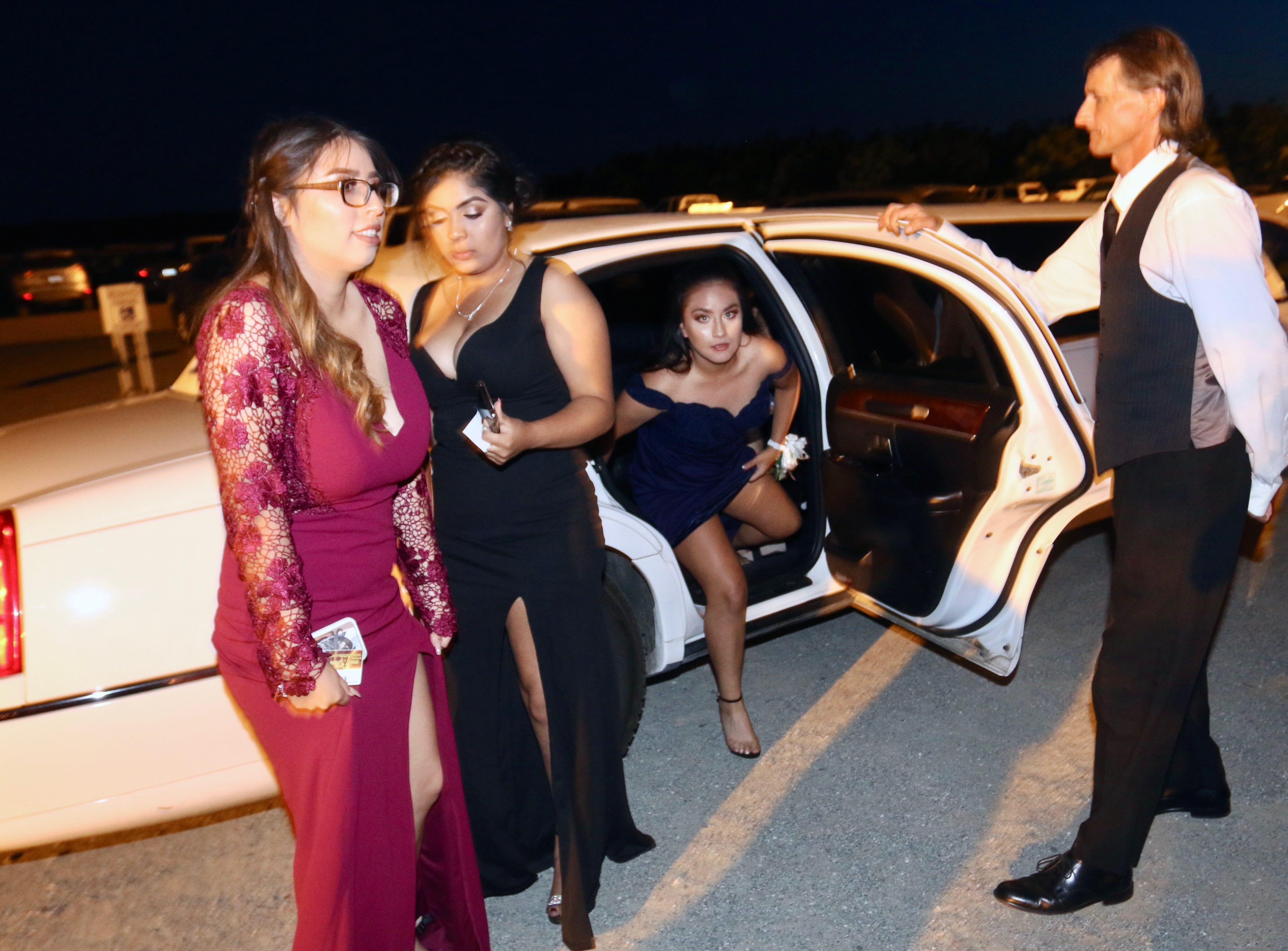 Tulare Joint Union High School District students attended prom on Saturday, May 4, 2019.