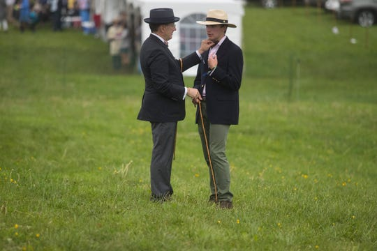 Scenes from the 41st Annual Point-to-Point at Winterthur Sunday, May 5, 2019. Heavy rain led to cancellations of the carriage parade and major horse races.