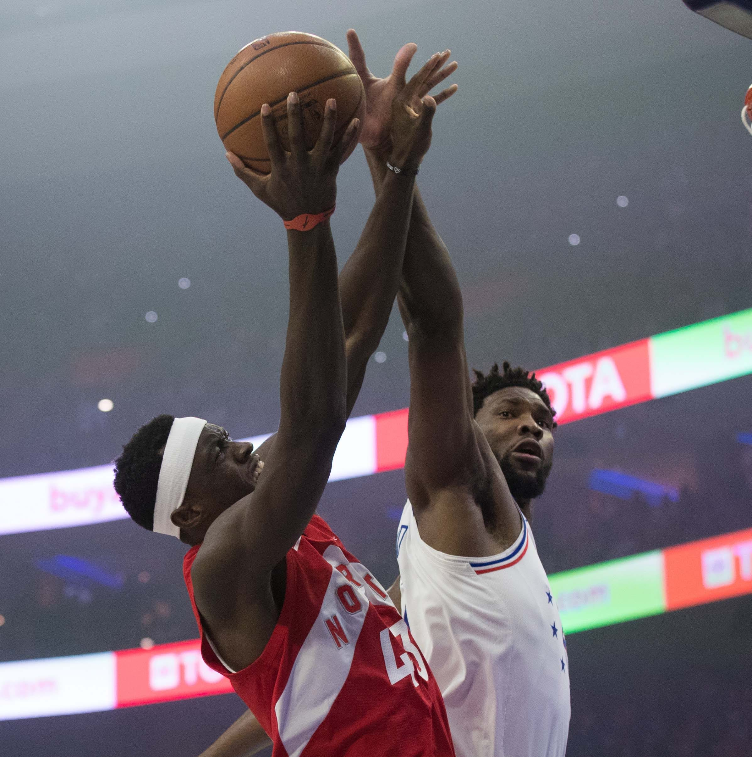 With Joel Embiid sick, Jimmy Butler can't save Sixers, who fall to Kawhi Leonard, Raptors
