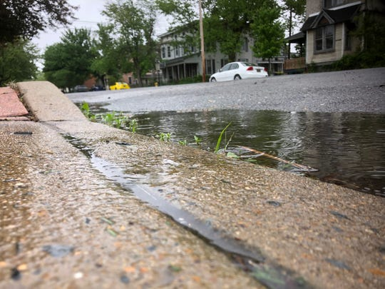 Widespread rain, expected to be heavy at times, will continue to spread through Delaware Sunday.