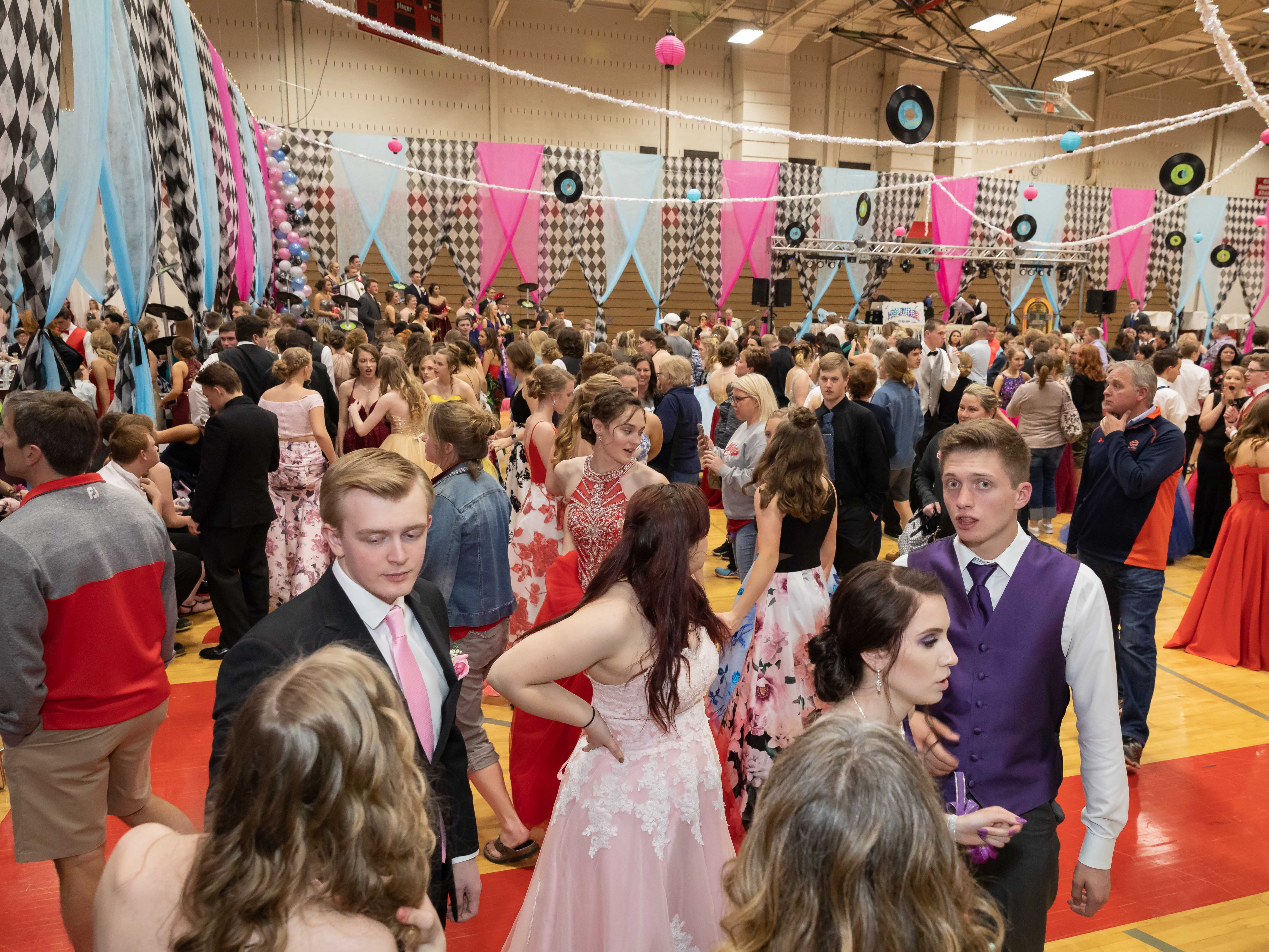 The Lincoln High School prom was held Saturday, May 4, 2019, at the high school in Wisconsin Rapids.