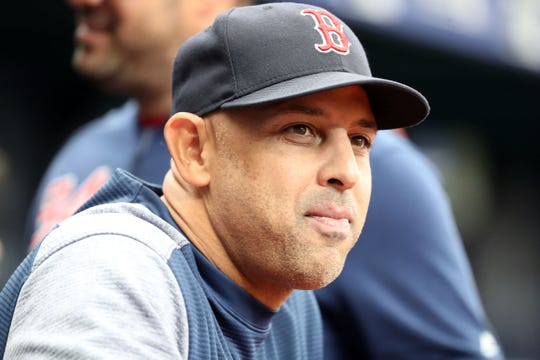 In his first season as a major league manager, Alex Cora led the Boston Red Sox to a World Series title.