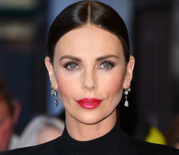 """Charlize Theron said being asked to play Gal Gadot's mom in """"Wonder Woman"""" when she's only nine years older is typical of how Hollywood treats actresses of a certain age."""