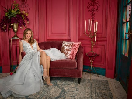 """THE BACHELORETTE - Hannah Brown caught the eye of Colton Underwood early on during the 23rd season of """"The Bachelor,"""" showing him, and all of America, what Alabama Hannah is made of - a fun country girl who is unapologetically herself. After being sent home unexpectedly, Hannah took the time to reflect on her breakup, gaining a powerful understanding of her desire to be deeply and fiercely loved. Now, with a newfound sense of self and a little southern charm, she is more ready than ever to find her true love on the milestone 15th season of """"The Bachelorette."""" (ABC/Ed Herrera)HANNAH BROWN"""