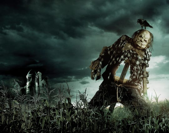 """A scene from """"Scary Stories to Tell in the Dark,"""" in theaters Aug. 9."""
