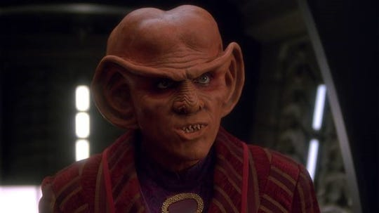 "Lakewood native Armin Shimerman as Quark on ""Star Trek: Deep Space Nine."""