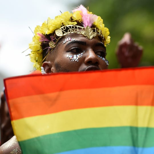 The 49th annual Pride Parade was held in New York City on Sunday, June 24, 2018.