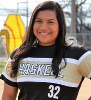 Haskell junior Lauren Alexander