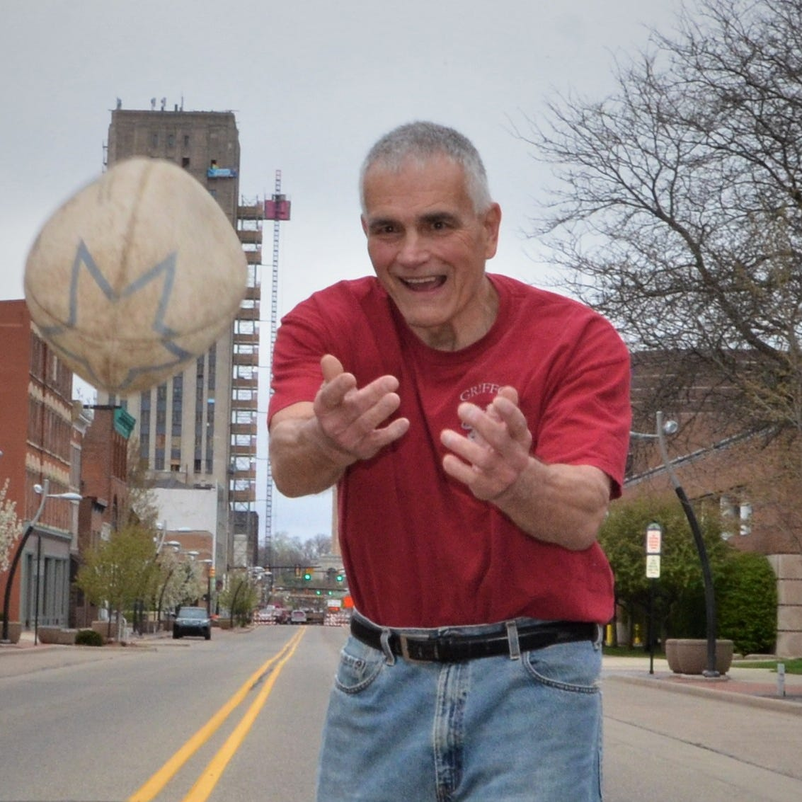 George Award: Al Houser took the rugby ball and ran with it