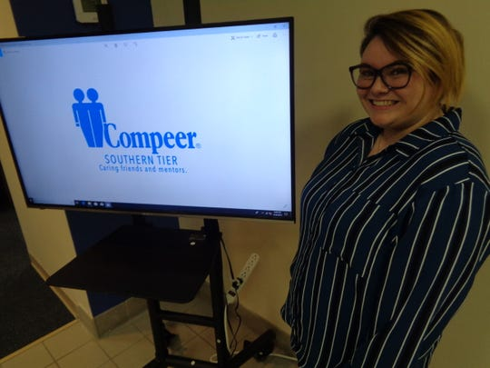 Andrea Kliment is a volunteer for Compeer Youth of the Southern Tier.