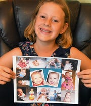 Rayna Kamon of Satellite Beach, 10, had a liver transplant at 7 months old that saved her life. She hopes to get people to sign up as organ donors through the Department of Motor Vehicles to have it placed on your driver's license, or go to www.donatelife.org.