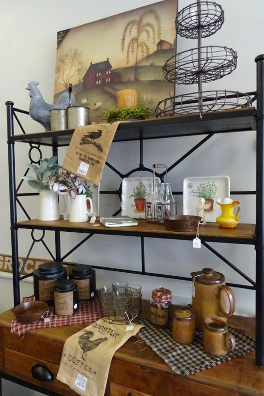 Annie's Primitive Marketplace, 238 S. Sandusky St., features a mix of primitive and farmhouse decor.