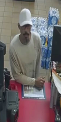 Corpus Christi police are seeking the public's help in identifying the man seen in surveillance footage. Anyone with information should call Crime Stoppers at 361-888-8477 or police at 361-886-2600.
