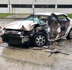 Turnersville man hospitalized, charged after Black Horse Pike crash
