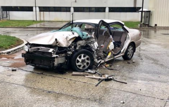 Zachary Kind, 24, of Turnersville was charged after his Toyota Camry struck an NJ Transit bus on the Black Horse Pike in Washington Township Sunday.