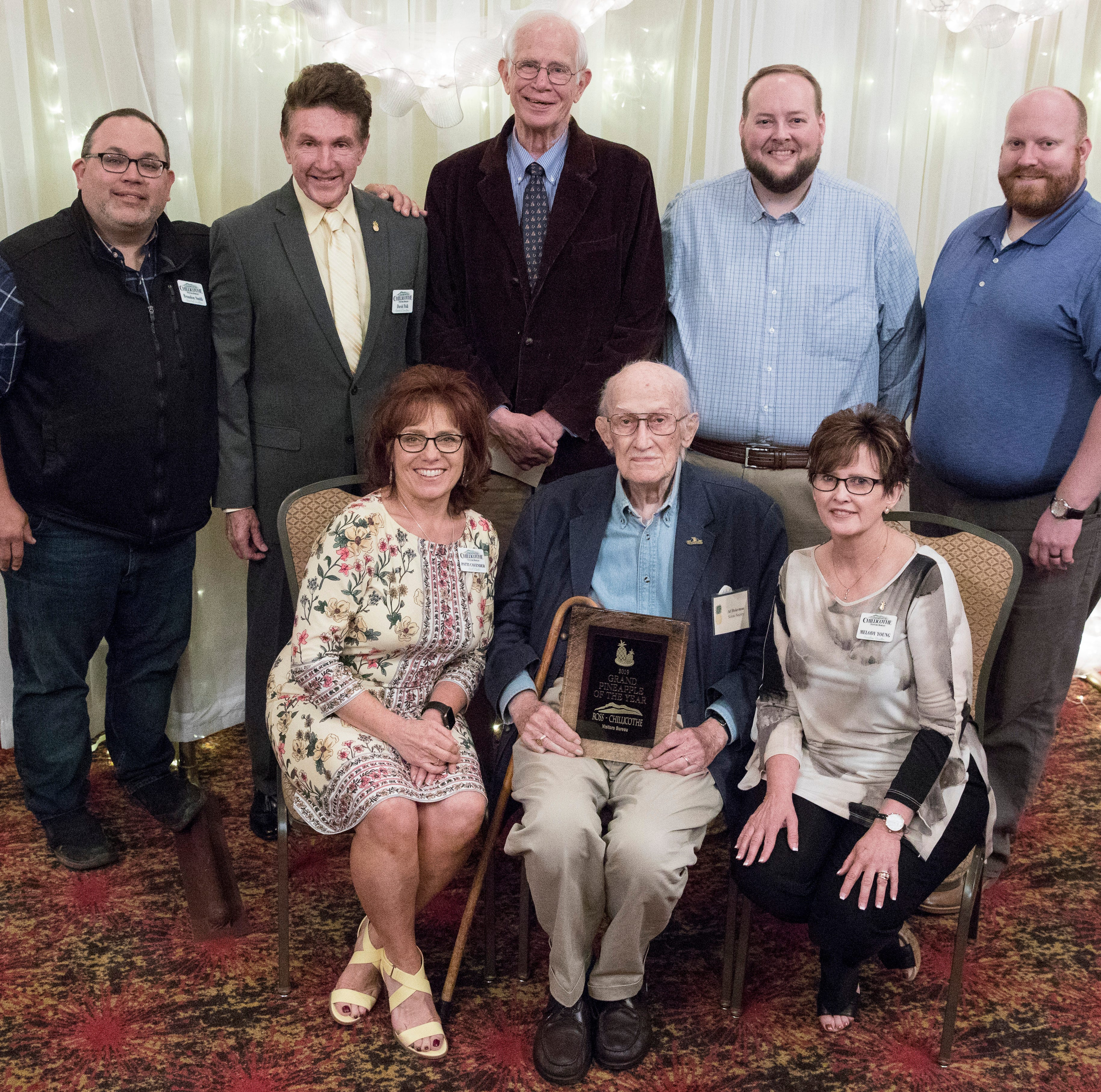 Tourism banquet honors Ashbrook, others for commitment to Ross County