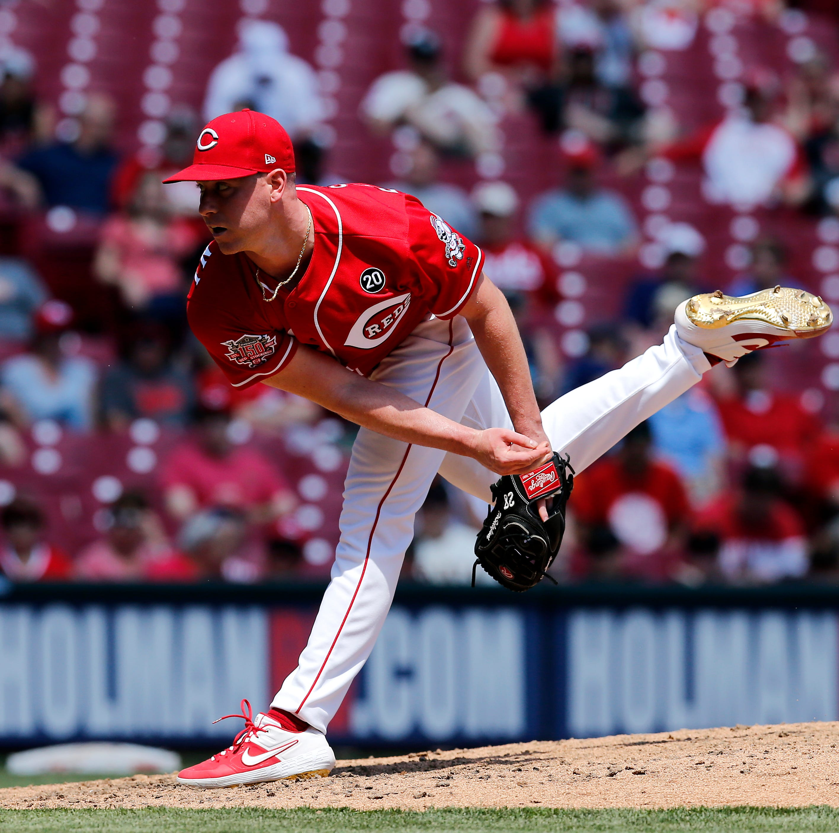 Fastballs up in the strike zone turning into a big weapon for Cincinnati Reds pitchers