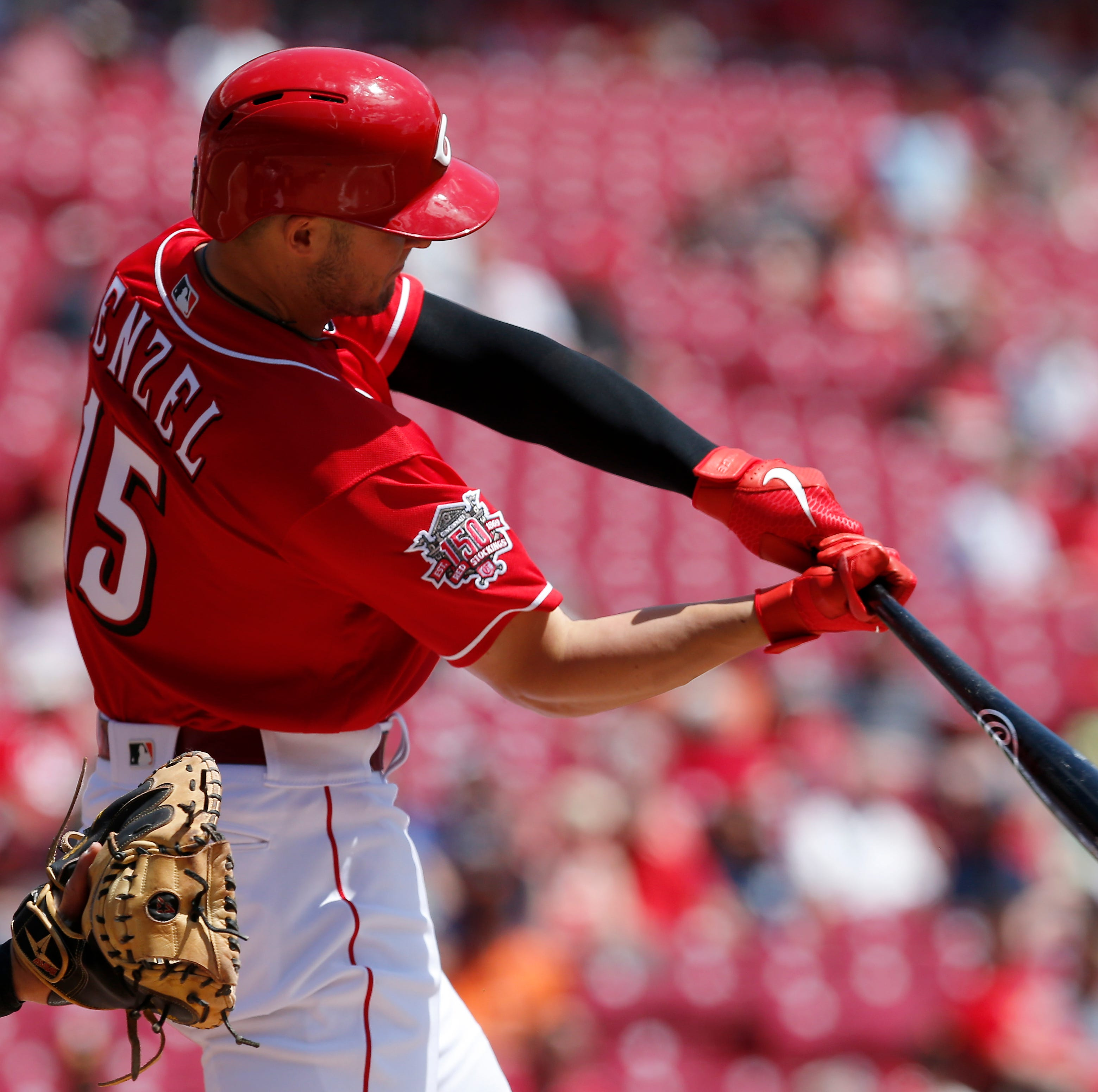 Senzel-sational end for the Cincinnati Reds in a 12-4 win over the San Francisco Giants