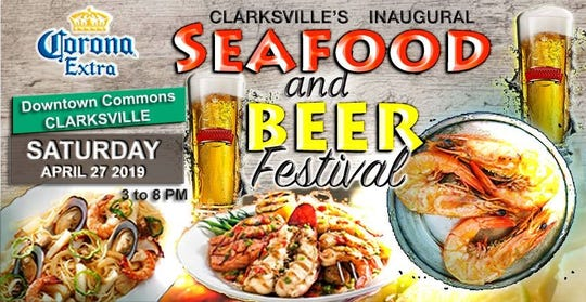 The Seafood and Beer Festival was held at Downtown Commons in Clarksville on April 27.