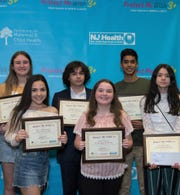 Winners of the seventh annual Protect Me With 3+ adolescent immunization awareness poster and video contest.