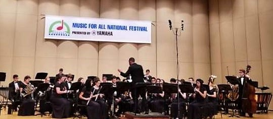 On the heels of performing at a national music festival in Indiana in March, the Westfield High School Wind Ensemble performed at the  New Jersey State Band Gala on May 5.