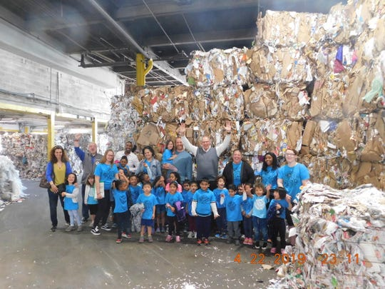 As part of Earth Week activities, Goddard School North Brunswick preschoolers and pre-k students visited the Bayshore Recycling Center. Students were given demonstrations of various equipment, and learned the many benefits of recycling.