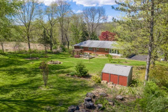 A full brick ranch in Bethlehem Township surrounded by 2,000 acres of preserved land is for sale for $359,900.