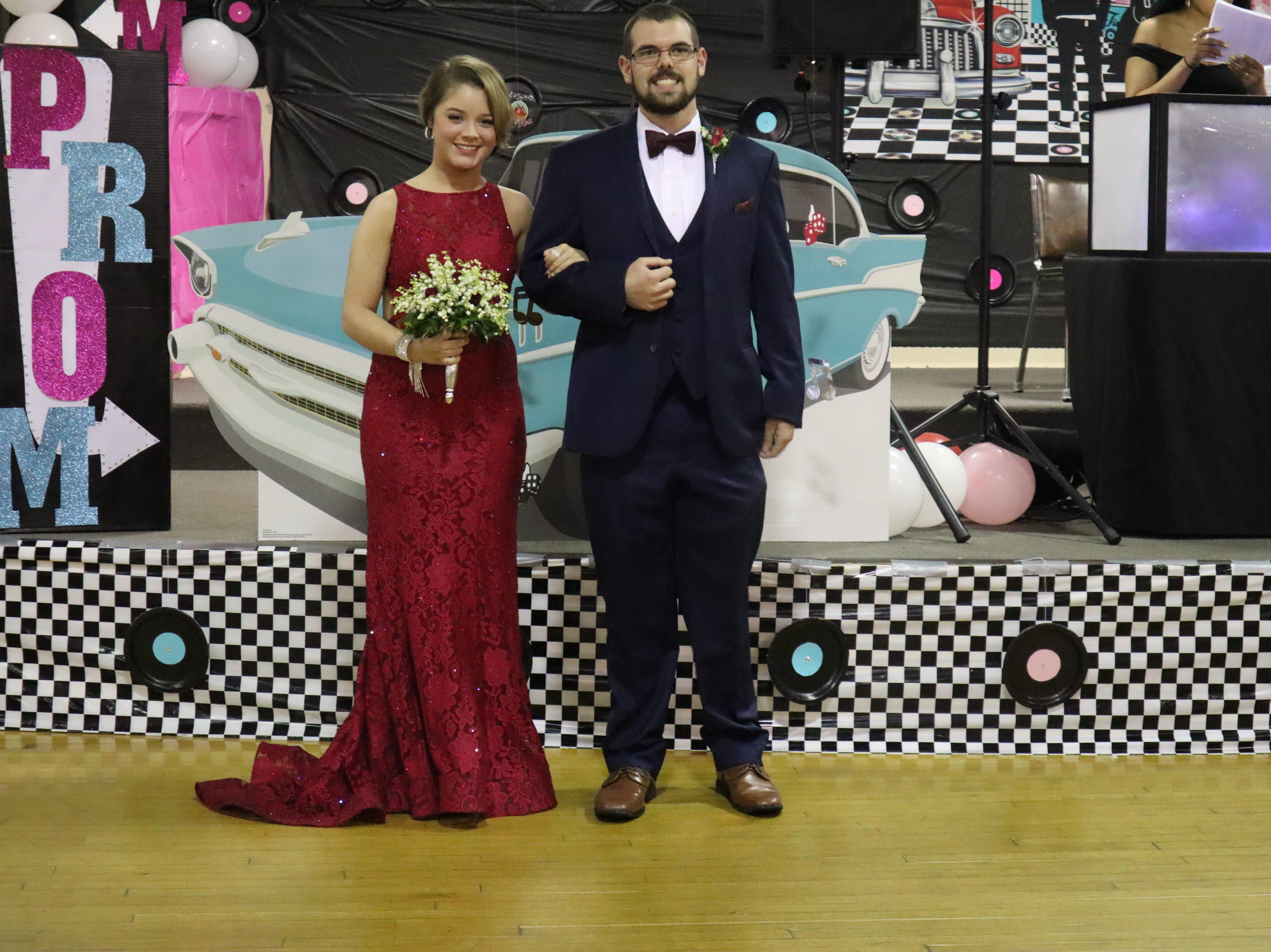 Coshocton High School held it's prom Saturday night at Lake Park Pavillion. The theme was Blast from the Past.