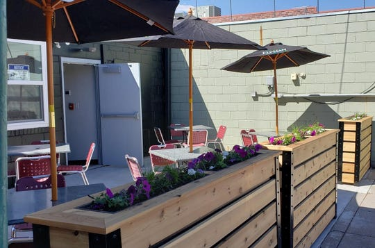 New to the roundup of patios in Des Moines for 2019 is the outdoor space at Vino209 in West Des Moines.