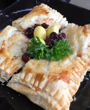 Baked brie from Caucus Bistro in Ladora.