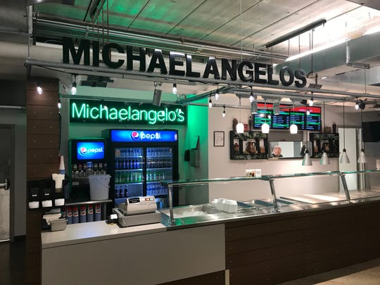 Michaelangelo's relocated from Kaleidoscope at the Hub to Local Bites in the Partnership Building.