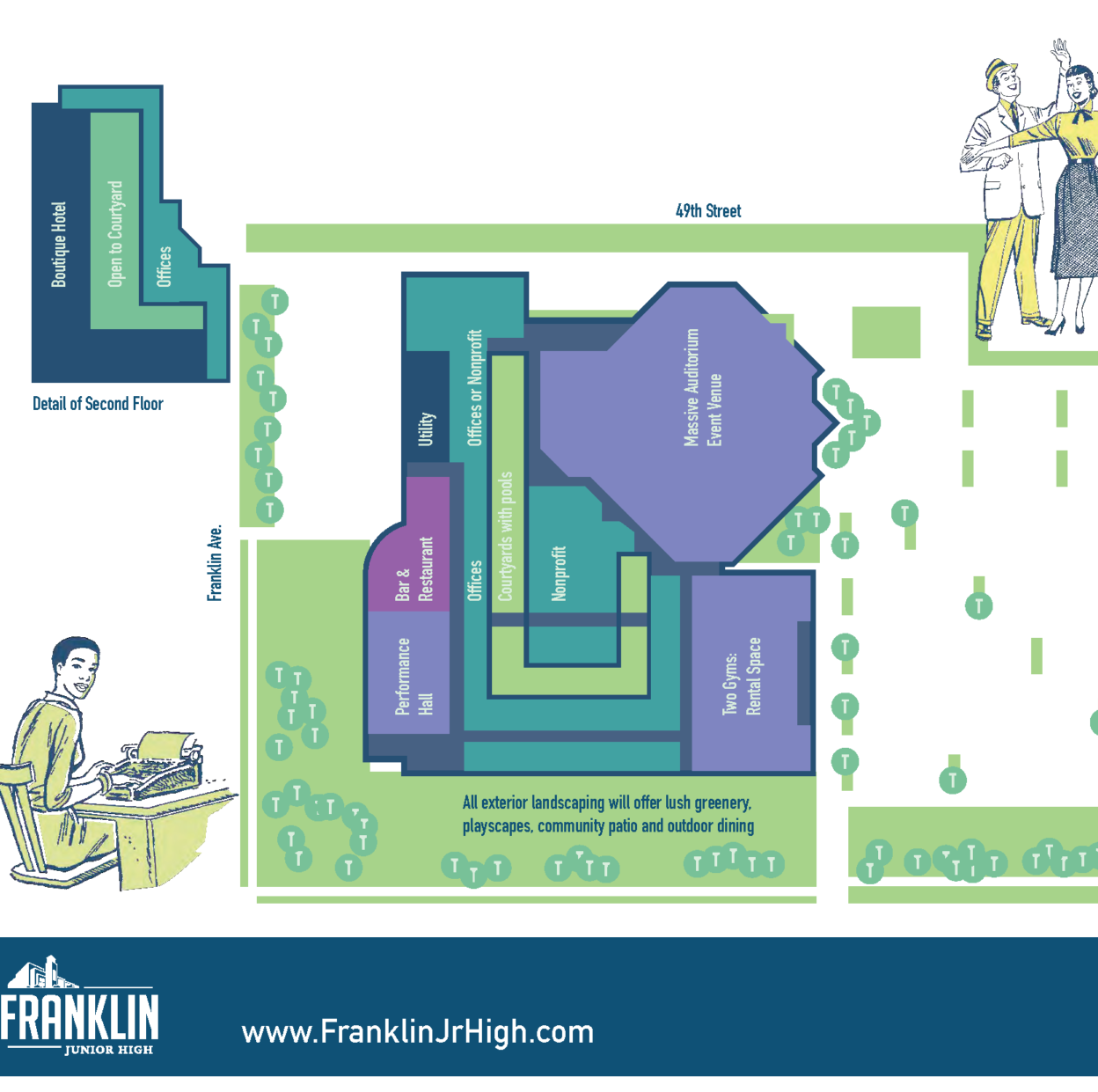 Des Moines delays vote on Franklin Junior High hotel, restaurant project
