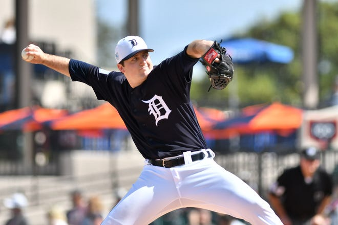 Tigers Double-A pitcher Casey Mize is considered the hottest prospect in the minors from the past week, according to Baseball America.