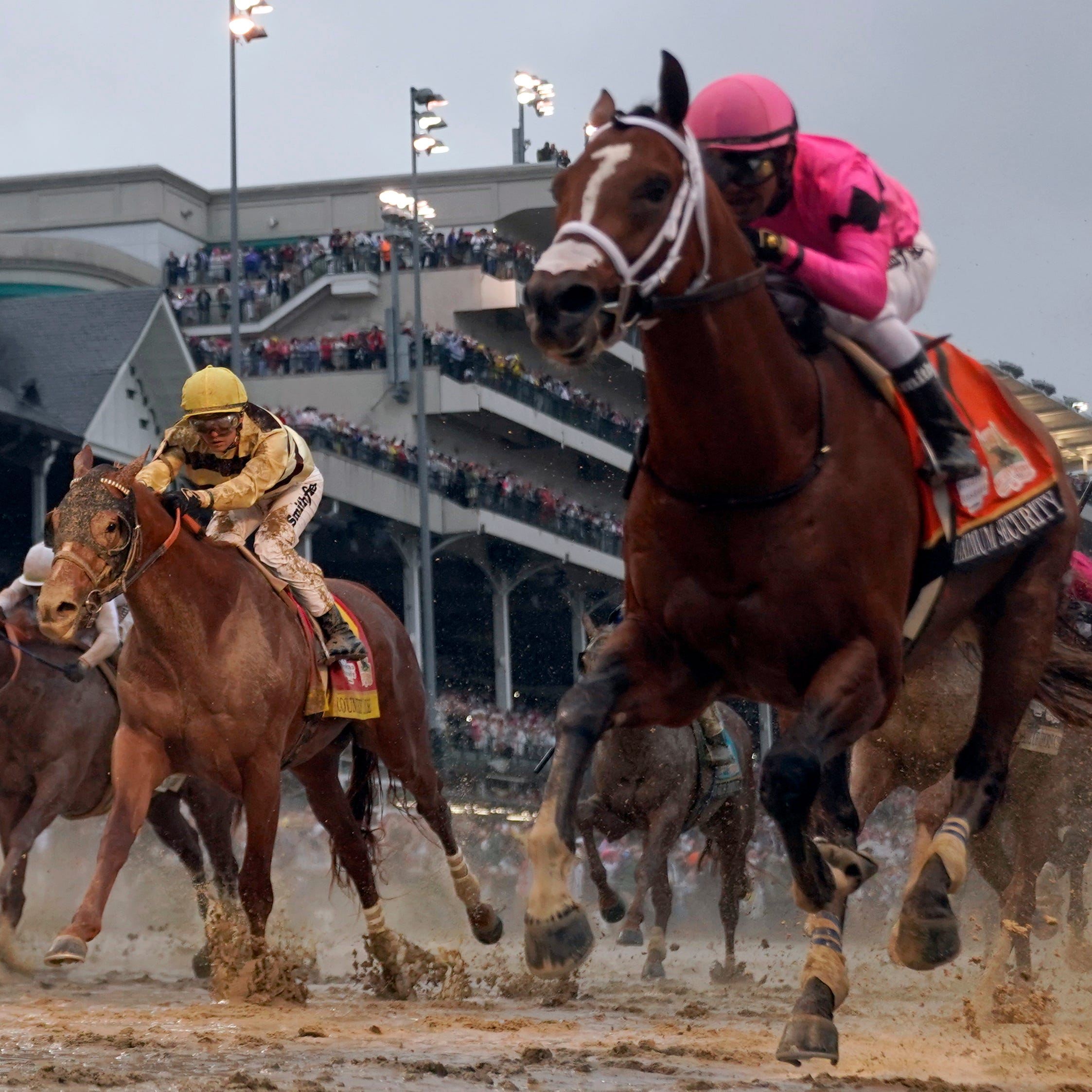 Maximum Security will not run in Preakness after disqualification