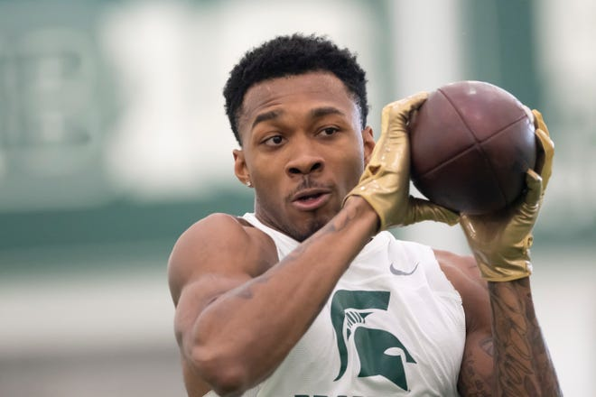 """ESPN NFL draft analyst Mel Kiper Jr. lists former Michigan State cornerback Justin Layne as one of his 15 """"instant-impact"""" rookies in the draft class. Layne was selected in the third round by the Pittsburgh Steelers."""