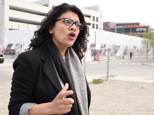 Rep. Rashida Tlaib