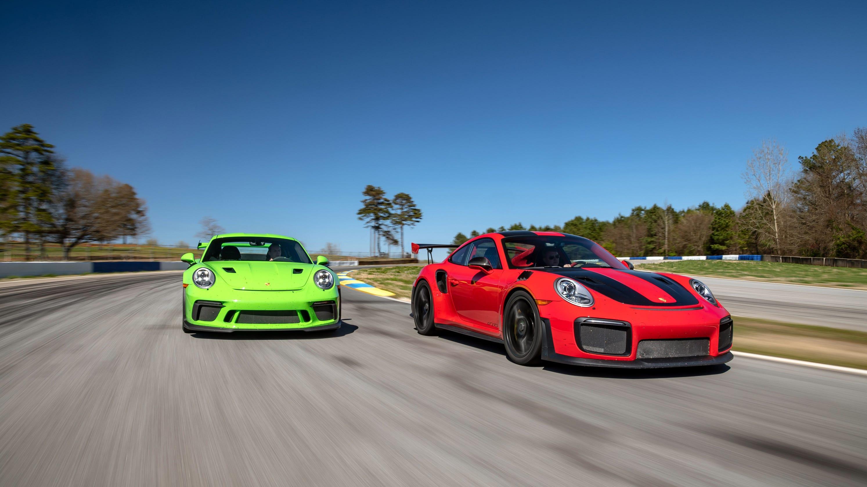 Porsche 911 Gt2 Sets Pace In Muscle Car Wars