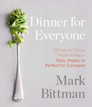 """Dinner for Everyone"" by Mark Bittman (Amazon/TNS)"