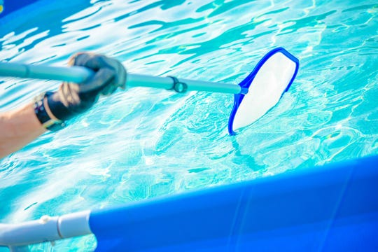Use the correct tools to clean your pool.
