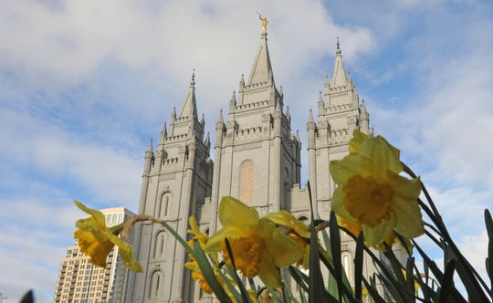 The Salt Lake City temple. The Church of Jesus Christ of Latter-day Saints is changing wedding rules in hopes of preventing family members who aren't church members from feeling excluded.