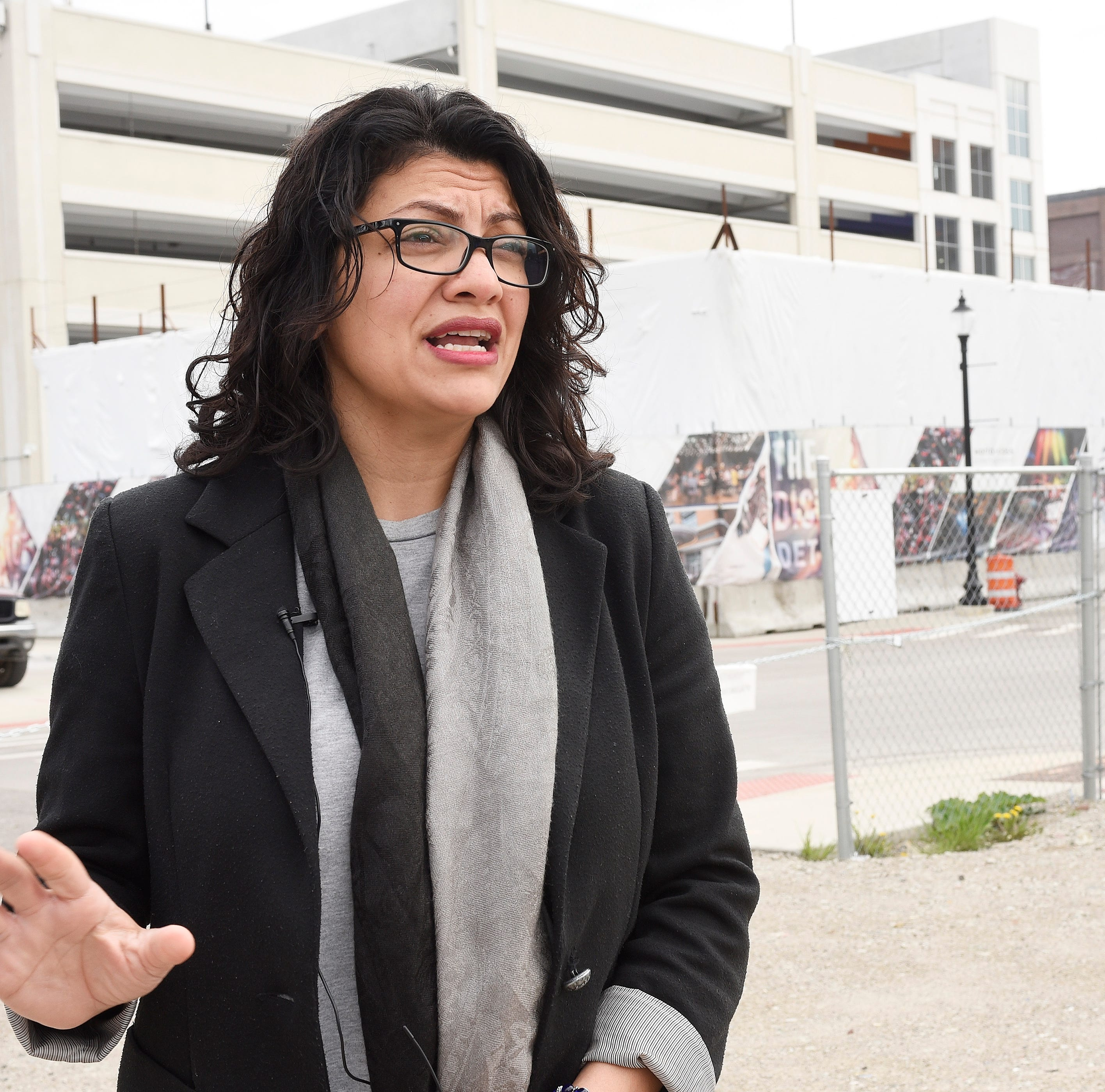 Tlaib says critics are 'twisting' her words as Trump attacks in tweet