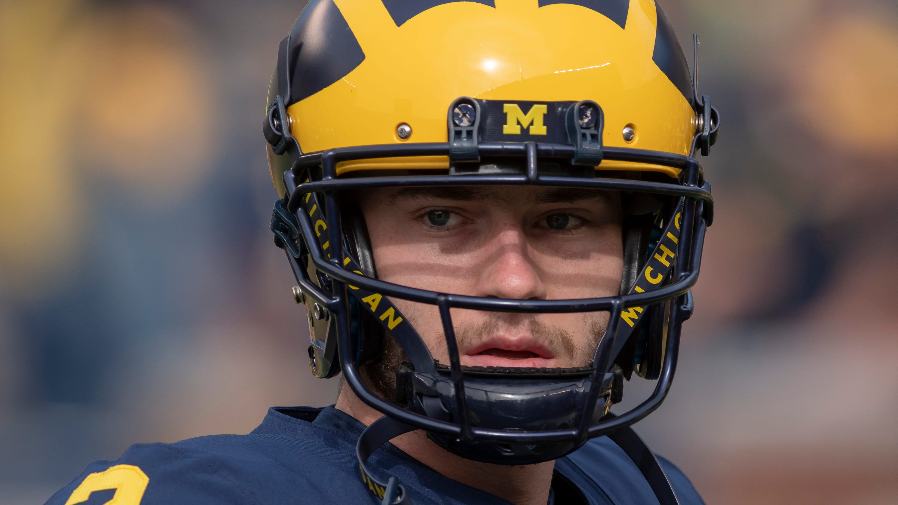 73132e1d60a One year after landmark ruling, Michigan's Shea Patterson grateful for the  struggle