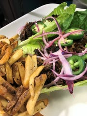 Duck carnitas lettuce wraps at Amy's on Franklin.